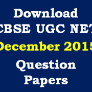 CBSE_NET_Dec_2015_Question_Papers