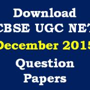 CBSE_NET_Dec_2015_Question_Papers