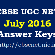 CBSE_UGC_NET_July_2016_Answer_Keys