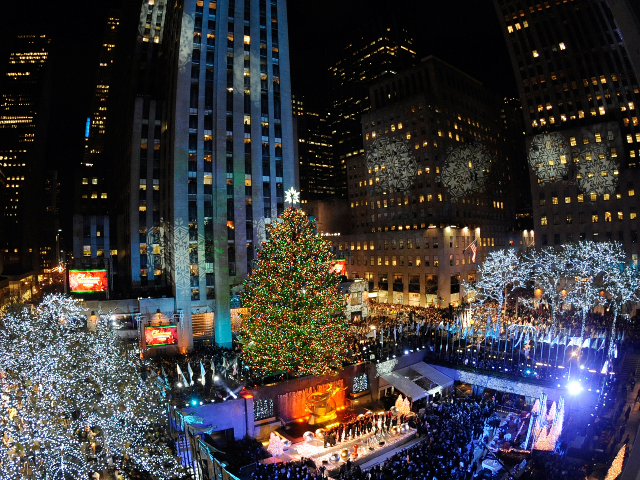 Kerstboom New York Rockefeller Center Christmas Tree 2011 - Photo 9
