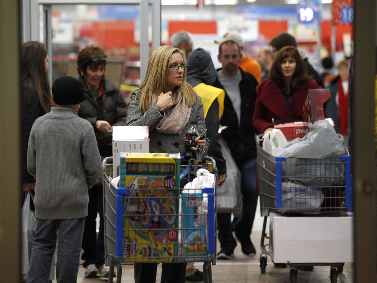 Black Friday Shopping How Black Friday Is Eating Into Thanksgiving Cbs News