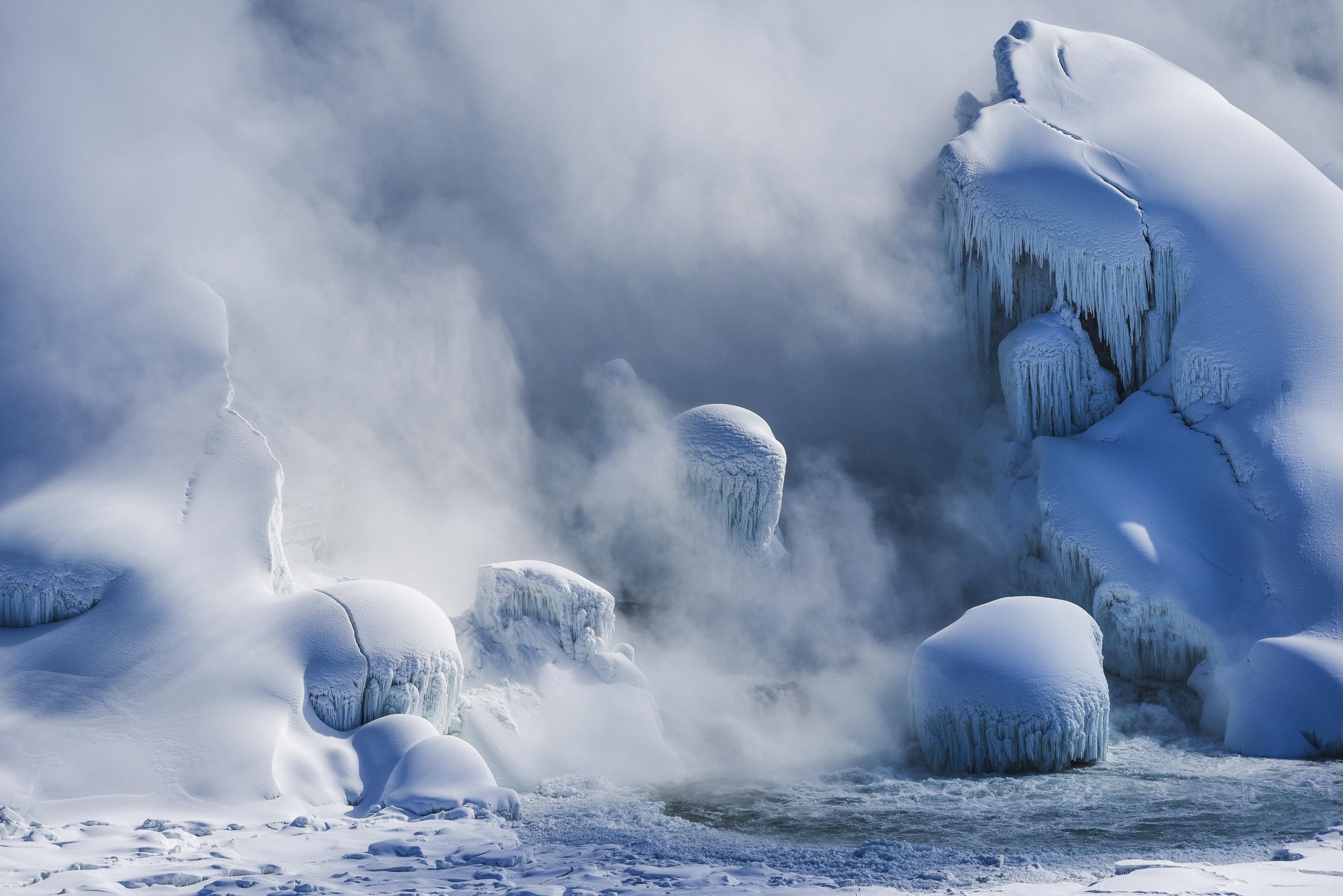 Live Niagara Falls Wallpaper Frozen Niagara Falls Niagara Falls Beautiful Frozen