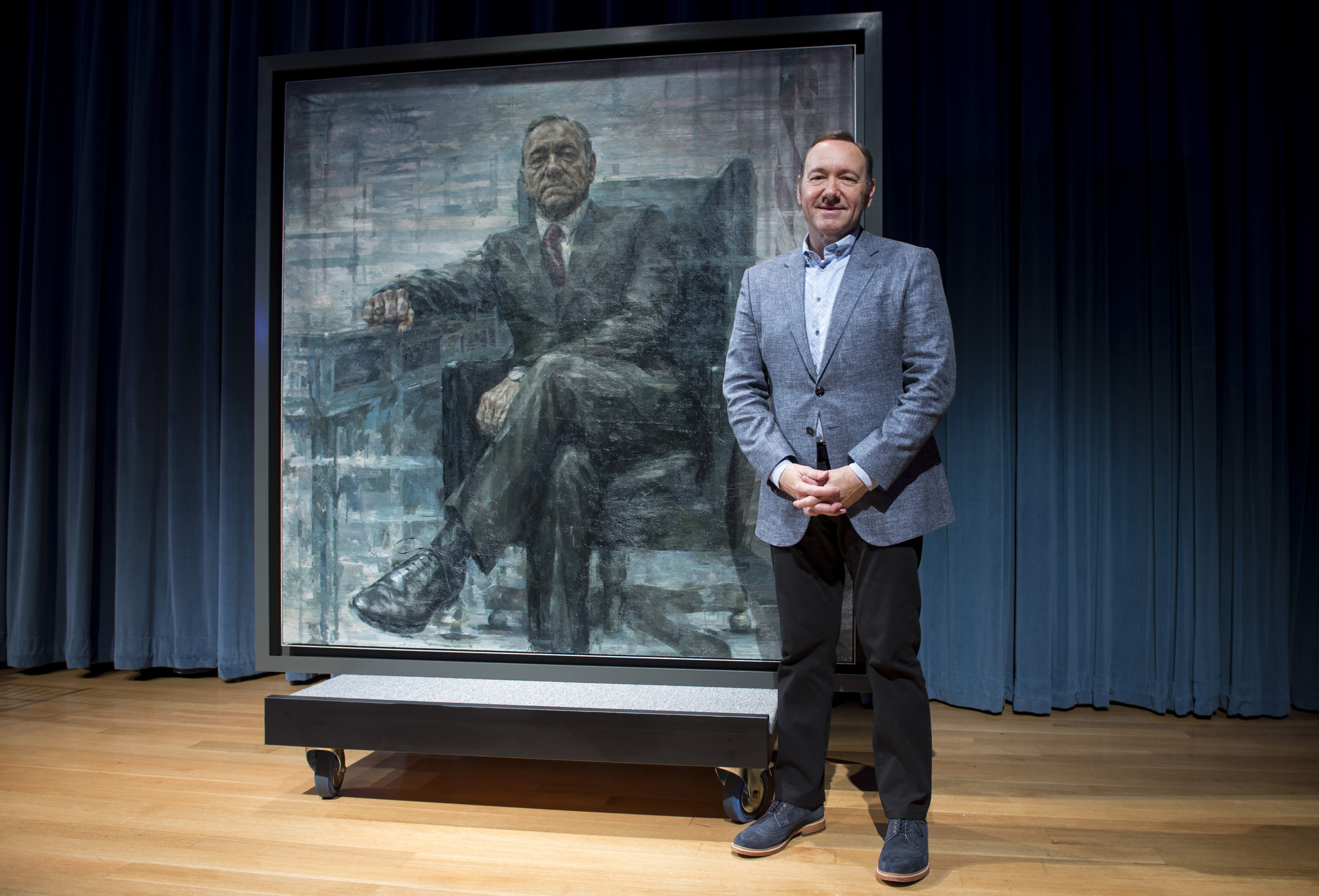 Forrest Gump Quotes Wallpaper National Portrait Gallery Unveils Frank Underwood Painting