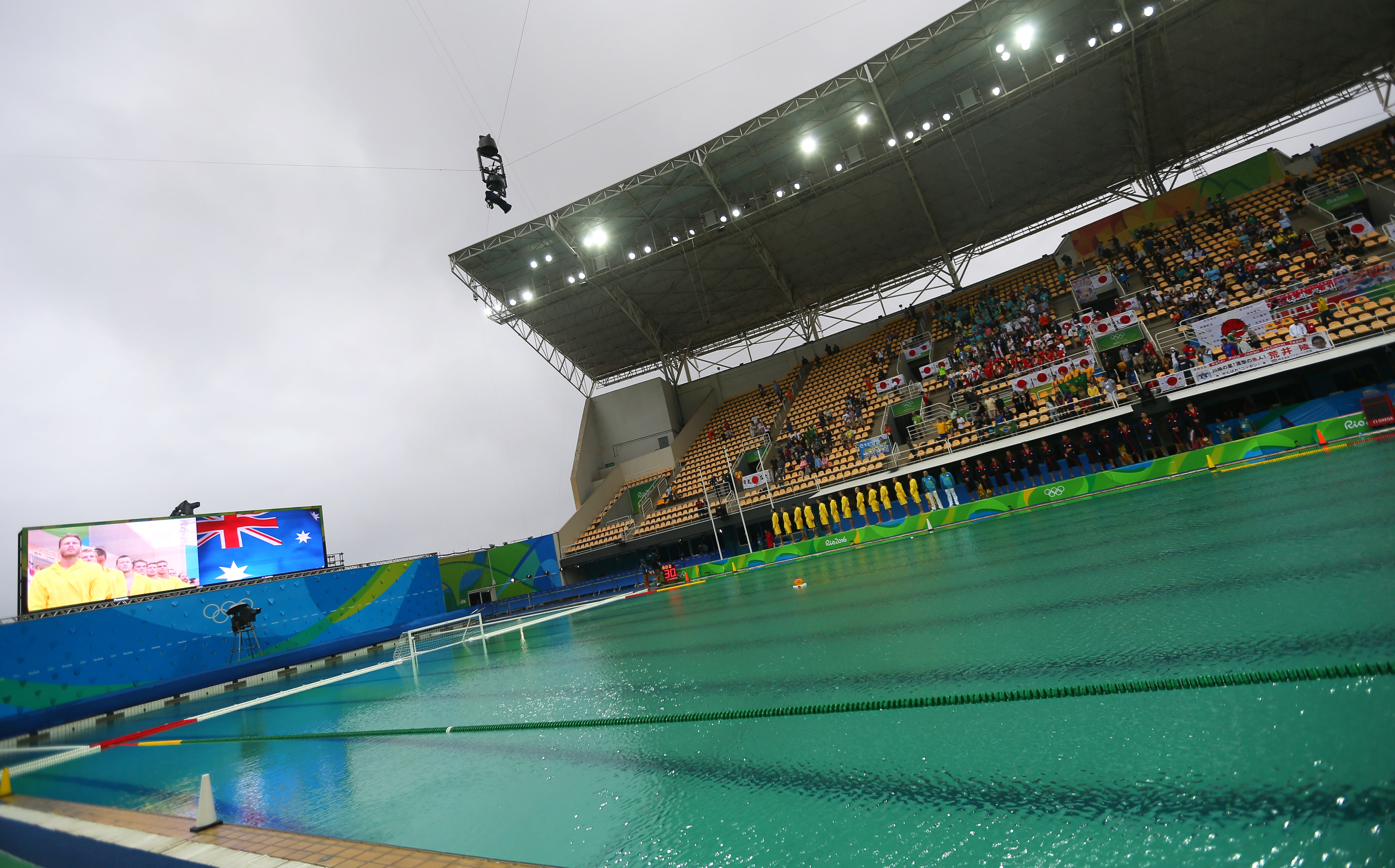 Wave Piscina Olympic Officials Wave White Flag In Effort To Clean Green