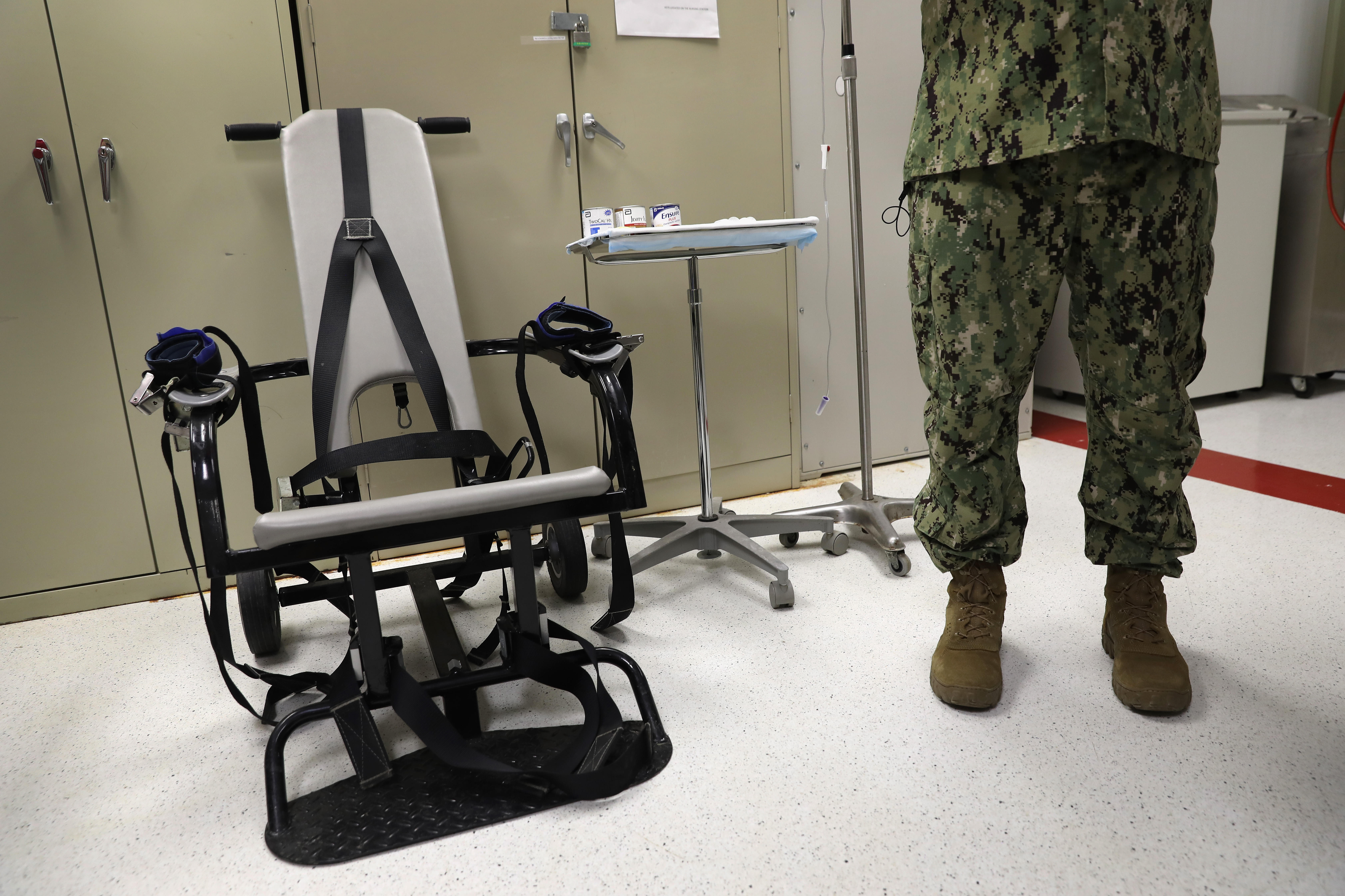 Small Office Chair Guantánamo - An Inside Look At Life In Guantánamo