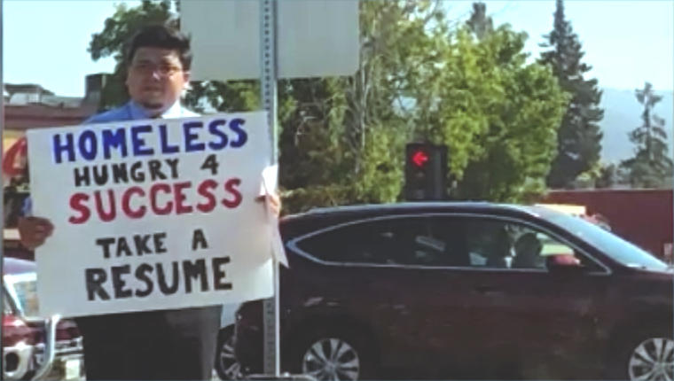 Homeless, hungry 4 success\