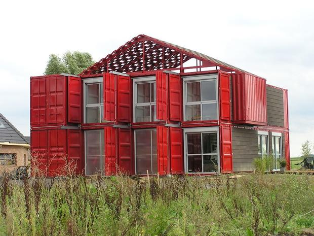 7 Homes Built With Shipping Containers Cbs News