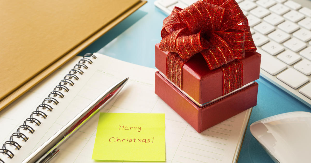 Holiday gift-giving in the workplace An insider\u0027s guide - CBS News