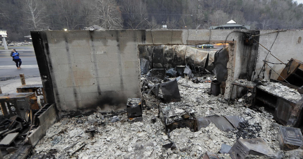 Death toll from Tenn wildfires rises to 14 - CBS News