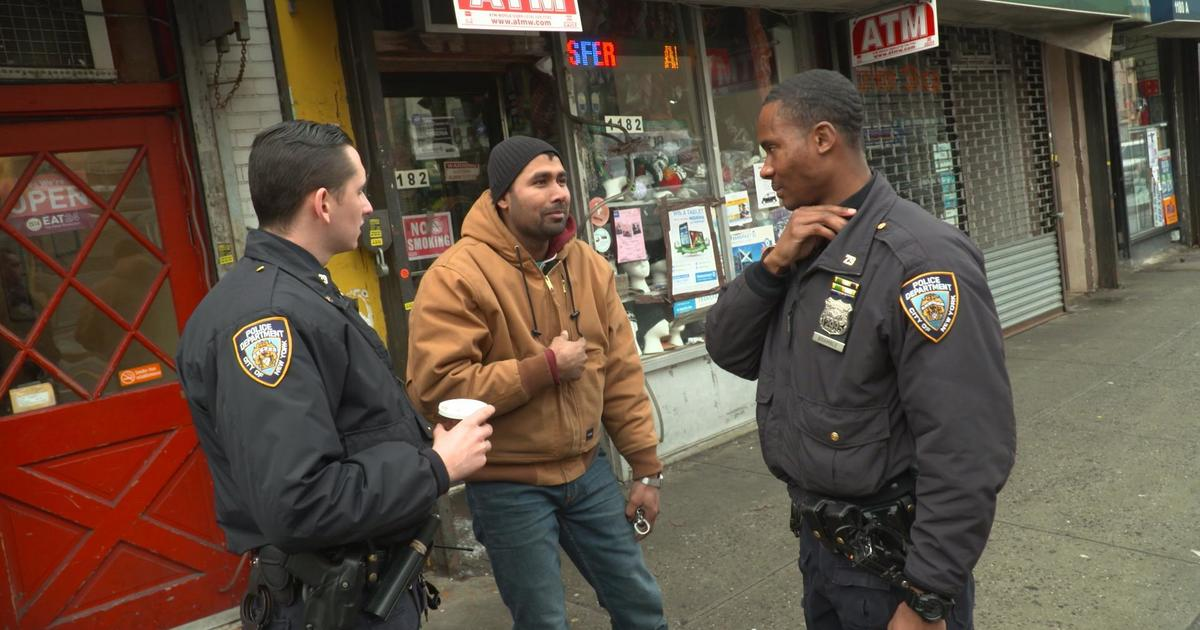 NYPD neighborhood policing program builds relationships to cut crime