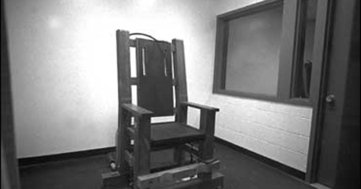 Nebraska Electric Chair Is Quottorturequot Cbs News