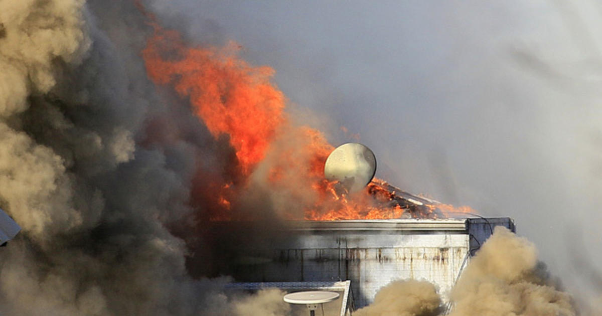 Major San Francisco Fire Brought Under Control Cbs News