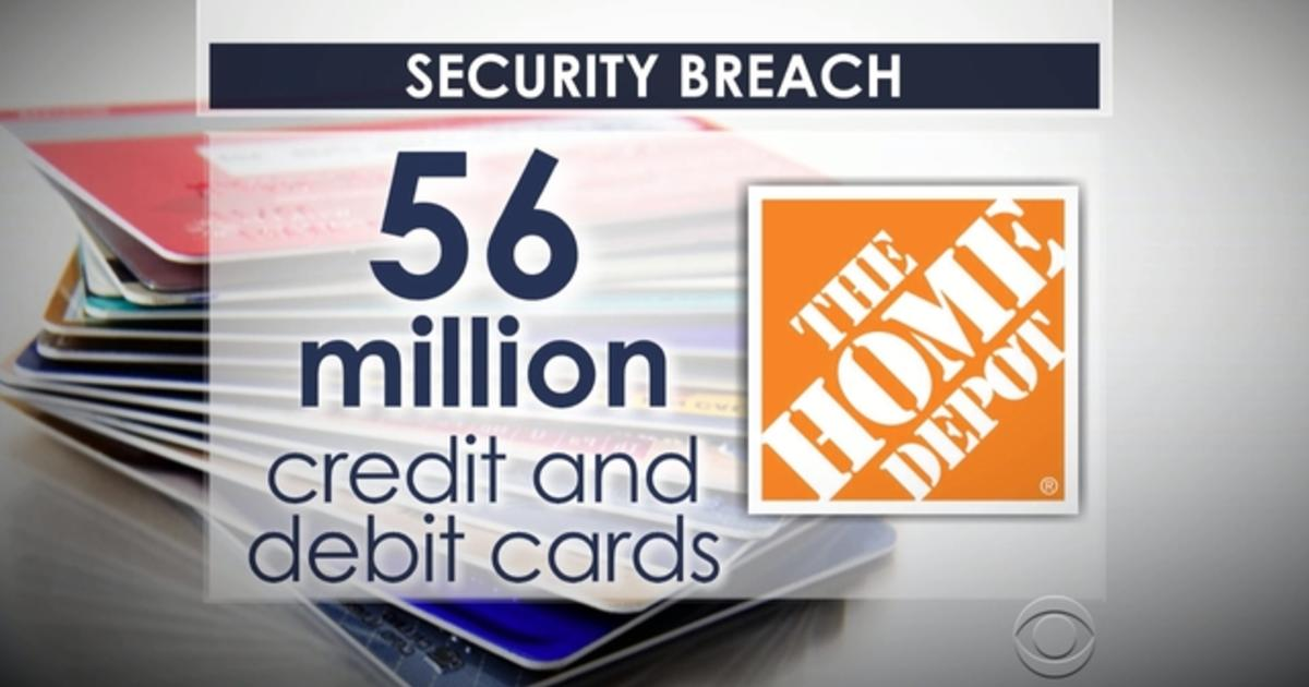 Home Depot hack 56 million accounts at risk - CBS News