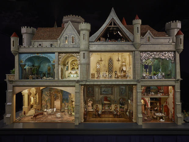 Barbie Doll 3d Wallpaper A Doll House To Dream Of Colleen Moore S Fairy Castle