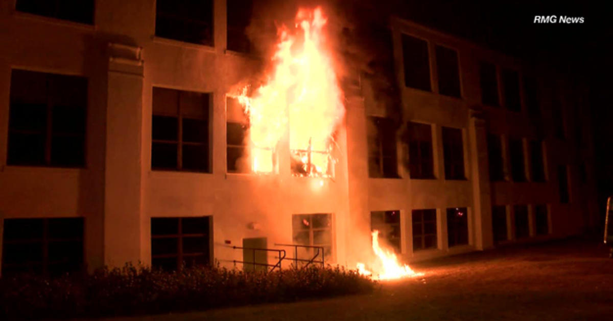 Arson Investigation Underway At Monrovia California High