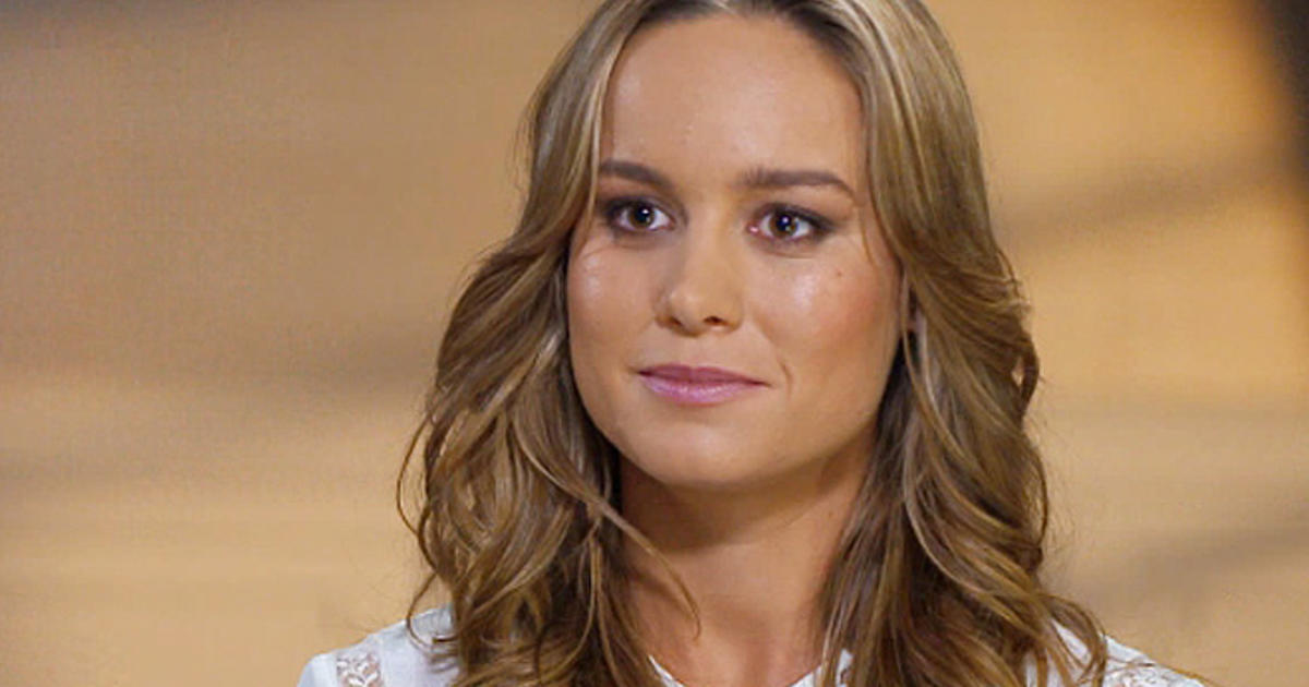 Golden 40 Brie Larson On Earning It - Cbs News