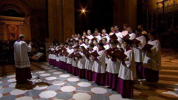 Preview The Pope39s Choir Cbs News
