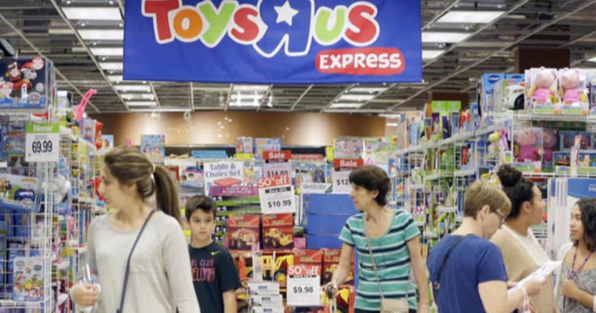 Toys R Us Küchengeräte Toys R Us Files For Bankruptcy - Cbs News