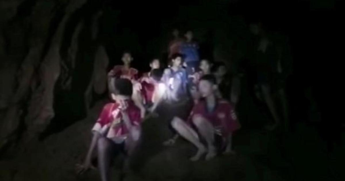 Thailand cave Boys trapped in cave unable to swim, complicating