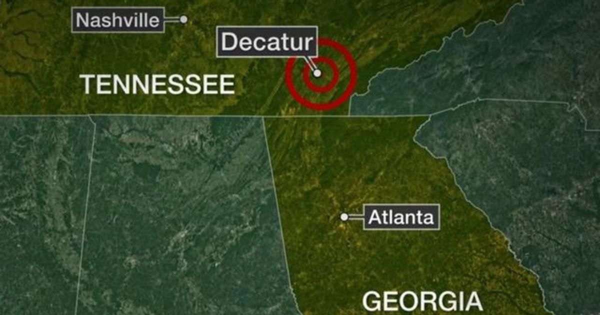Earthquake today Magnitude 44 earthquake strikes eastern Tennessee