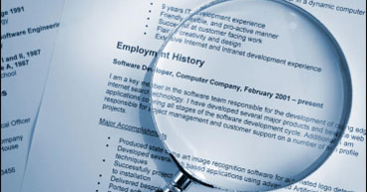 Terms to Never Use in Your Resume - CBS News