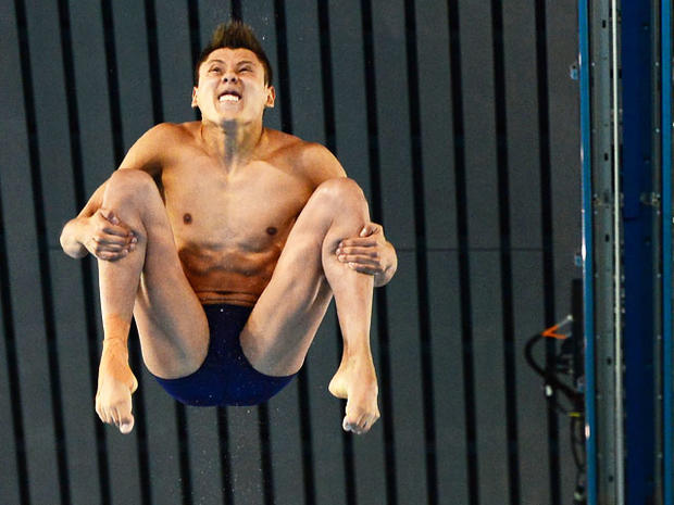 New York Bilder Olympic Divers' Funny Faces - Photo 1 - Pictures - Cbs News