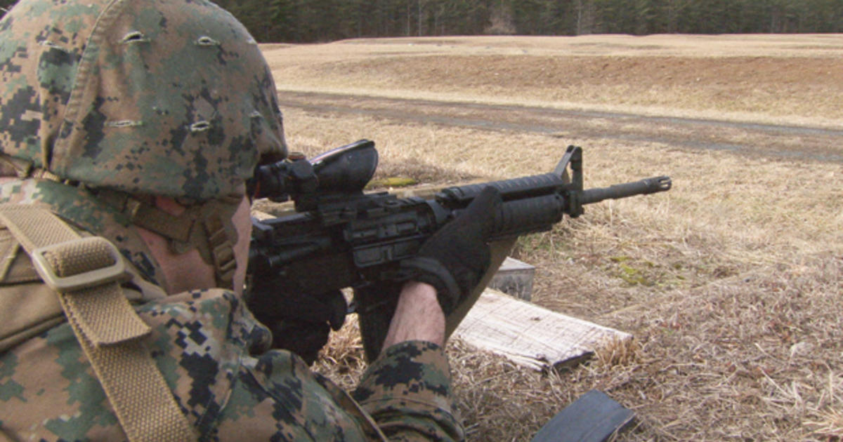 The M4 The Marines\u0027 new weapon of choice - CBS News