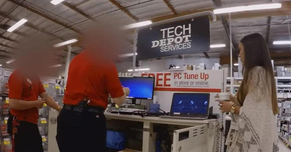 Are Office Depot workers pushing unnecessary computer fixes? - CBS News