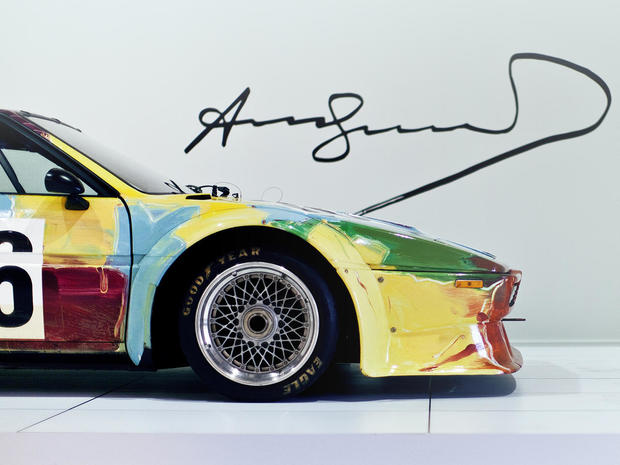 Car Wallpaper 1 40 Alexander Calder Bmw S Art Cars Pictures Cbs News