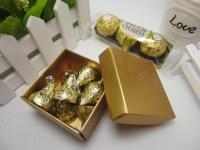 European Elegant Pearly Square Shape Wedding Favor Box For ...