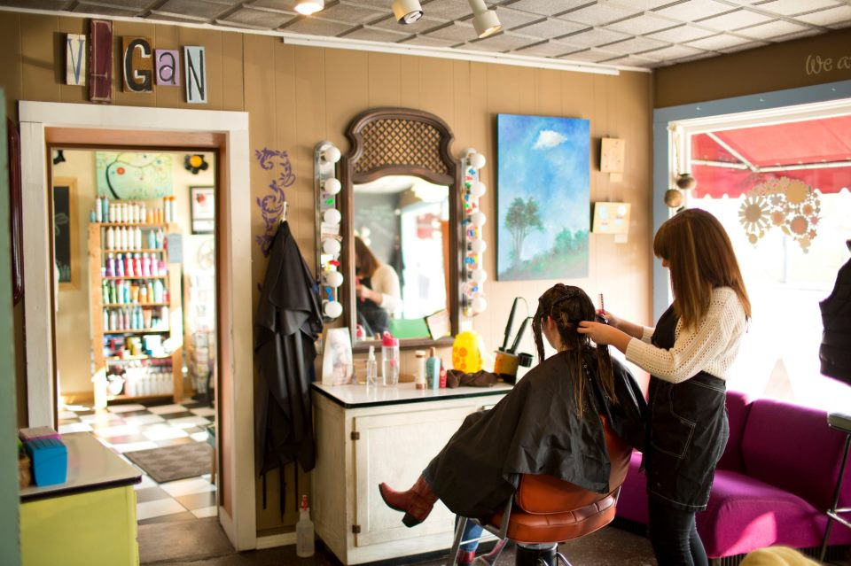 Salon Vegan Eco-friendly Hair Care At Virtue Vegan Salon | Cbuschic