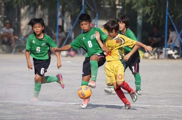 東京都U-12サッカー大会12ブロック後期リーグ戦開幕