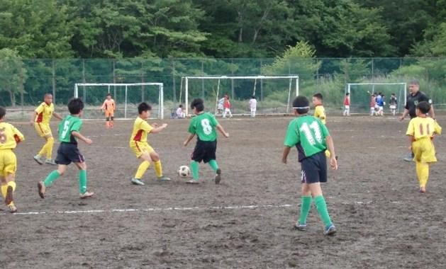 予選リーグ戦 VS 松林少年SC