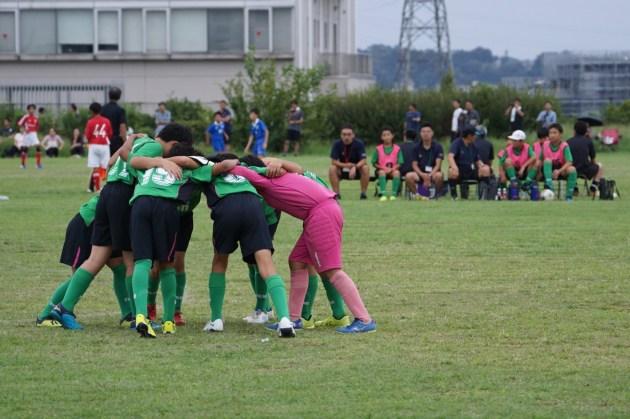 東京都U-12サッカー大会後期リーグ戦終了