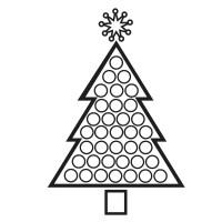 Albero di Natale: disegni da scaricare, stampare e colorare