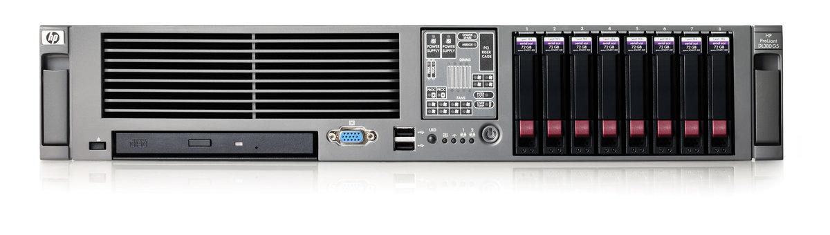 HPE ProLiant DL380 G5 High Efficiency - Quad-Core Xeon L5420 25 GHz