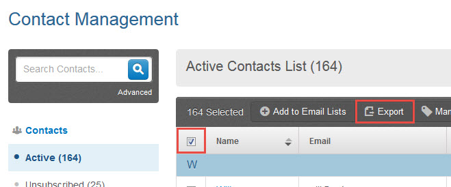 How to print a contact list - Constant Contact Community