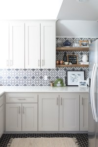 Patterned Backsplash Tile - Tile Design Ideas