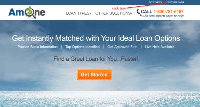 AmOne [Payday / Personal] Loan Online Login - CC Bank