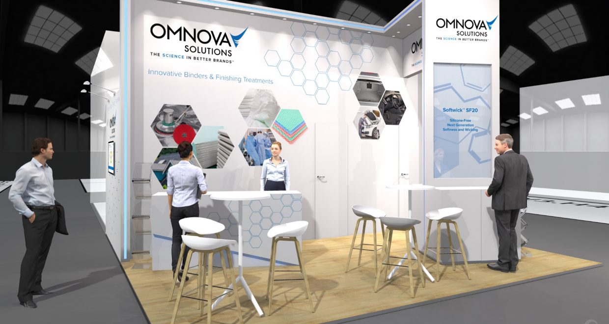 Organisation Salon Cce Organisation Stand Omnova Solutions Sur Le Salon Chinacoat 2017
