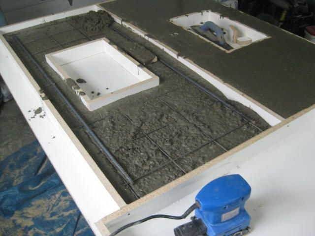 Step By Step Guide To Making Concrete Countertops Cce L