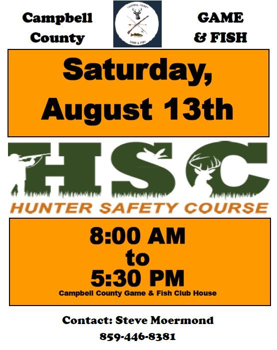 hunter safety 2016