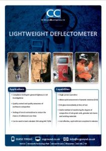 Lightweight Deflectometer
