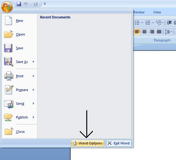 How to change Microsoft Office default save locations Columbia - on word