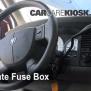 Fuse%20Interior%20-%20Part%201 2004 Dodge Ram Fuse Box Trailer Light Relay Repair