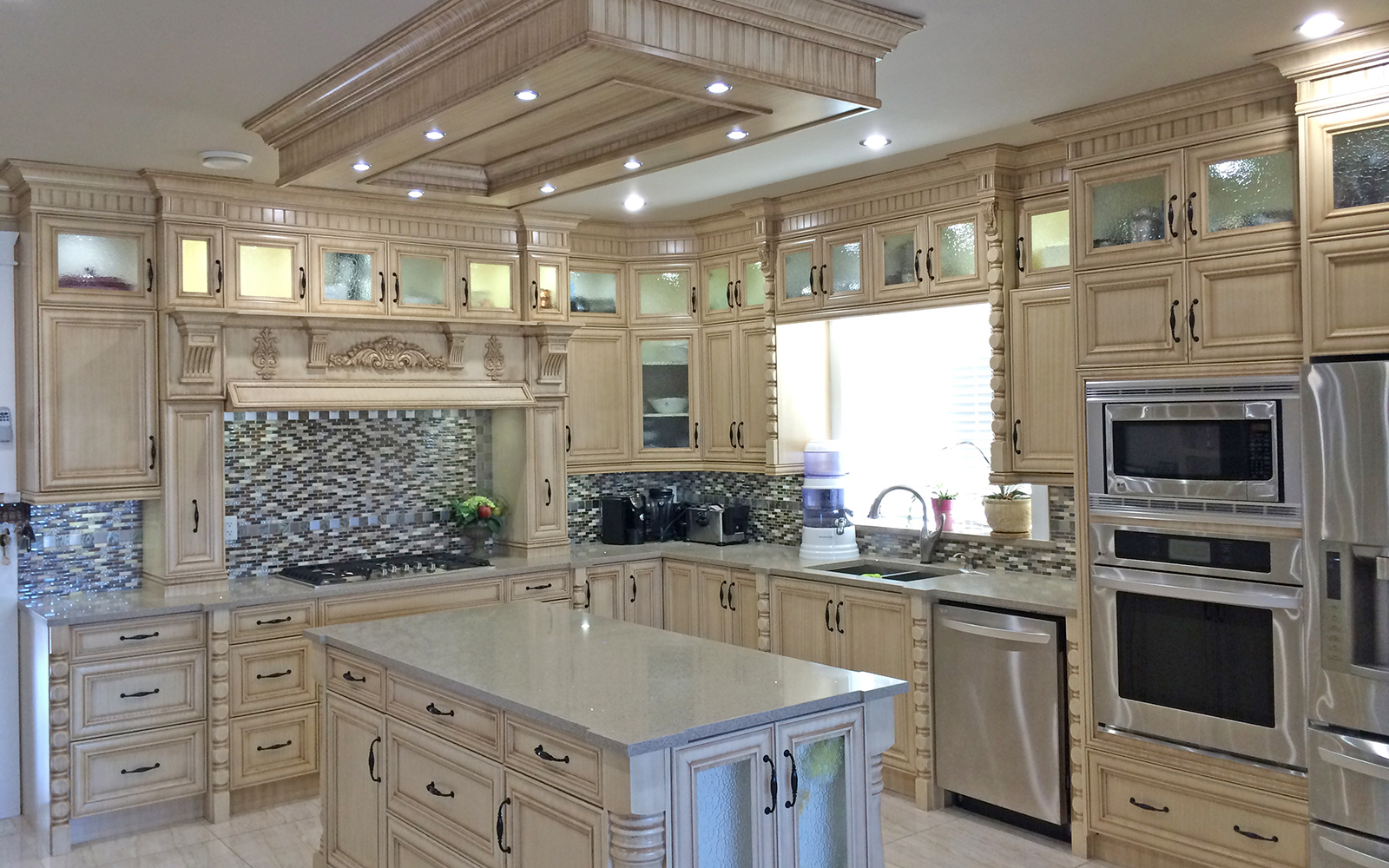 New Kitchen Cabinets Calgary Custom Kitchen Cabinets Ltd Countertops