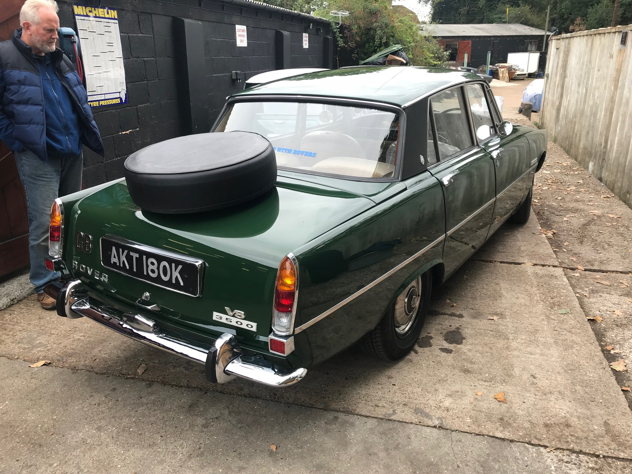 Rover P6 Cck Historic Rust Repairs For A Rover P6