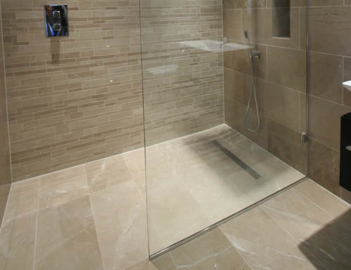 Vasque Salle De Bain Leroy Merlin Preformed Wet Room Floor & Linear Drainage System | Ccl