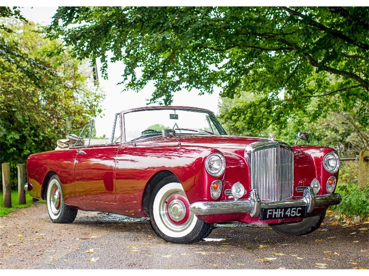 S2 Car Parking 1962 Bentley S2 Continental Drophead Coupé By Park Ward For