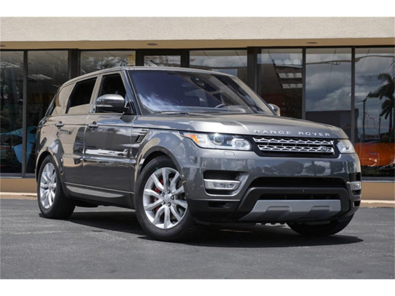 Garage Sale Rover For Sale 2016 Land Rover Range Rover Sport In Miami Florida